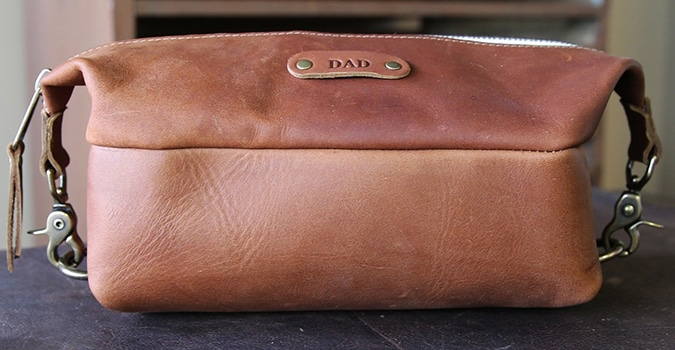 Holtz Leather Dopp Bag