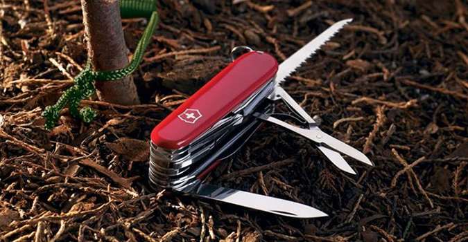 Victorinox Swiss Champ Pocket Knife