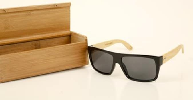 Wooden Wayfarer Glasses