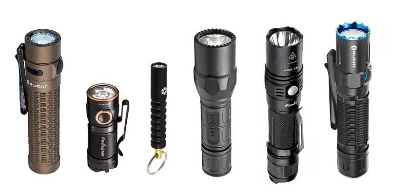 top edc flashlights and buyers guide hero