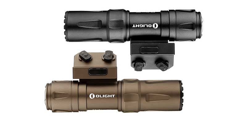 olight odin mini rail mount flashlight review